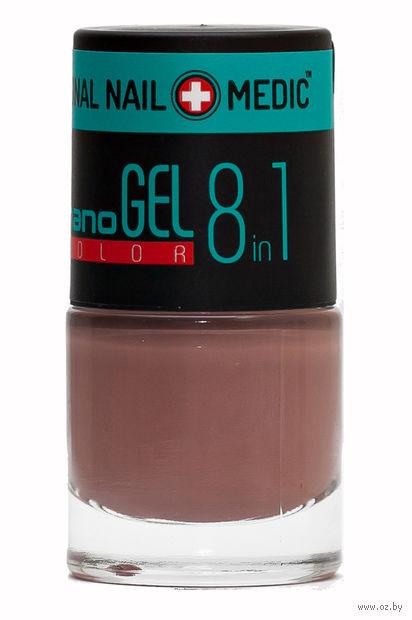 """Лак для ногтей """"Nano Gel Color"""" (тон: 07, перламутровый бежевый) — фото, картинка"""