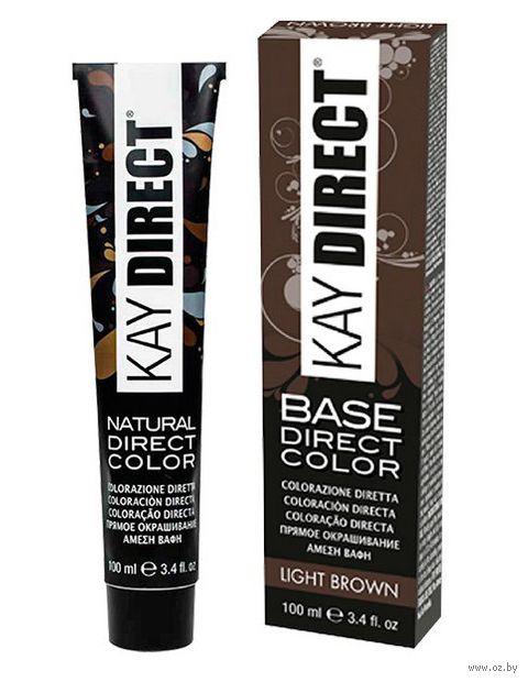 """Краситель для волос """"Прямого действия. Kay Direct"""" тон: светлый каштан — фото, картинка"""