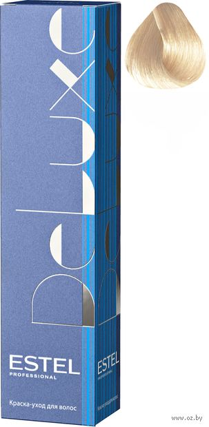 """Краска-уход для волос """"Estel. De Luxe"""" тон: 10/61, светлый блондин фиолетово-пепельный — фото, картинка"""