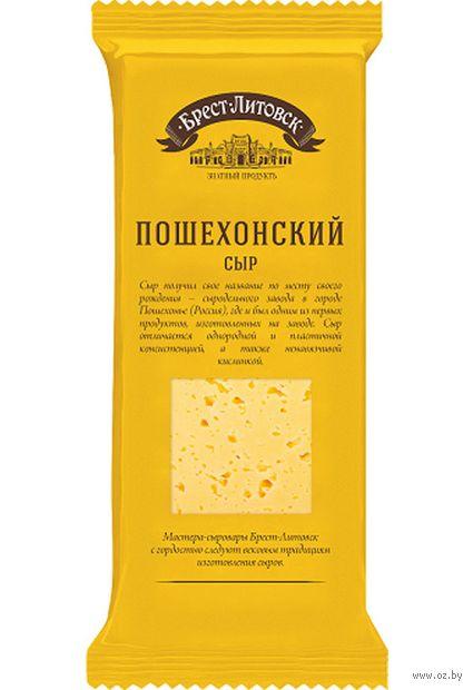 """Сыр полутвердый """"Брест-Литовск. Пошехонский"""" (240 г) — фото, картинка"""