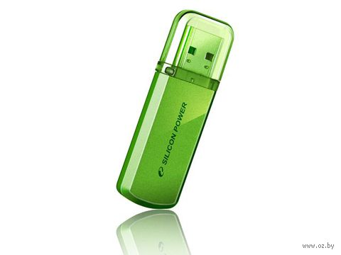 USB Flash Drive 4Gb Silicon Power Helios 101 (Green)