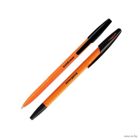 """Ручка шариковая """"R-301 ORANGE"""" (черный стержень)"""