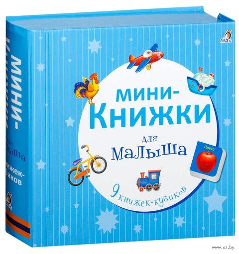 Мини-книжки для малыша. 9 книжек-кубиков — фото, картинка