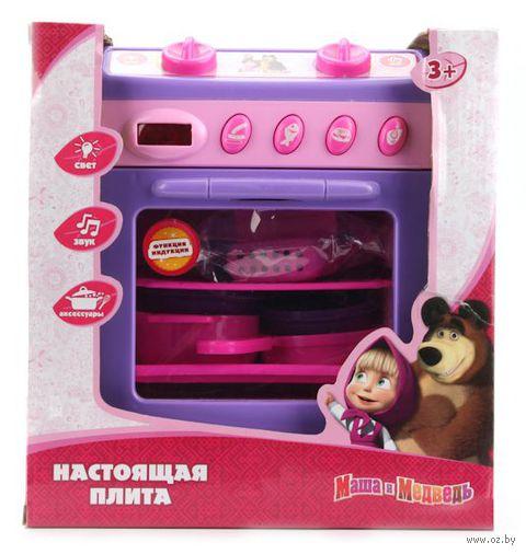 """Игровой набор """"Маша и Медведь. Плита с аксессуарами"""" (арт. B374465-R)"""