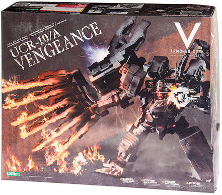 Armored Core. UCR-10/A VENGEANCE (масштаб: 1/72)