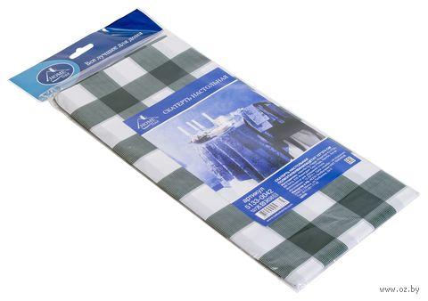 Скатерть настольная пластмассовая (137х274 см; арт. 5133-0042) — фото, картинка