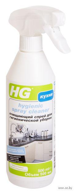 "Спрей для гигиенической уборки кухни и туалета ""HG"" (500 мл) — фото, картинка"