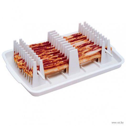 """Набор для жарки бекона в микроволновке """"Bacon Chef"""" — фото, картинка"""