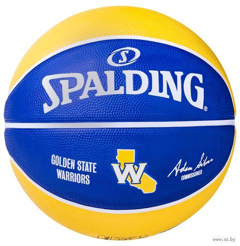"""Мяч баскетбольный Spalding """"Team Golden State"""" №7 — фото, картинка"""