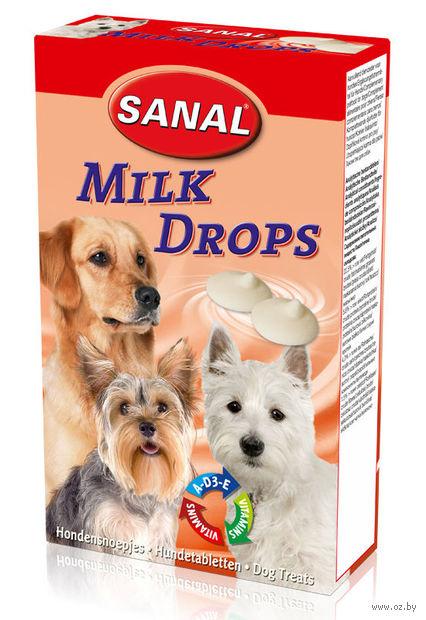 "Лакомство для собак ""Milk Drops"" (125 г) — фото, картинка"