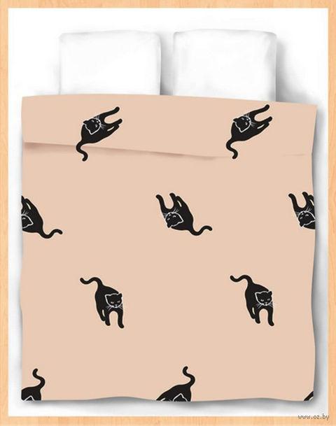 """Пододеяльник хлопковый """"Cats"""" (215х153 см) — фото, картинка"""