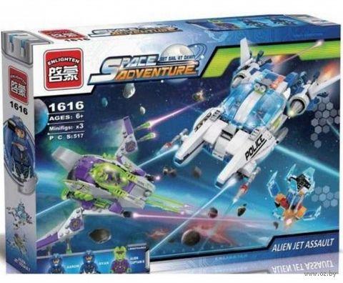 """Конструктор """"Space. Полицейский космический корабль"""" (517 деталей) — фото, картинка"""