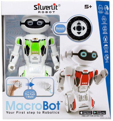 """Робот на радиоуправлении """"MacroBot"""" (зелёный; со световыми и звуковыми эффектами) — фото, картинка"""