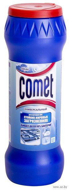 """Чистящий порошок COMET """"Океан"""" c хлоринолом в банке (475 г)"""