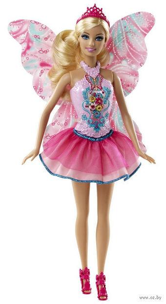 """Кукла """"Барби. Феи"""" (блондинка с розовыми крыльями)"""