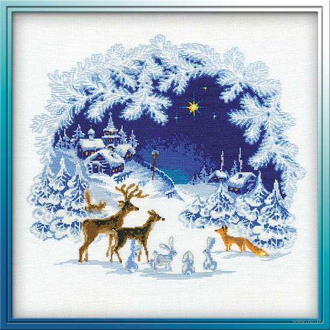 """Вышивка крестом """"Рождество"""" (арт. 793)"""
