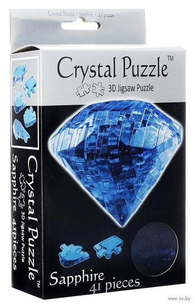 "Пазл-головоломка ""Crystal Puzzle. Сапфир"" (41 элемент) — фото, картинка"