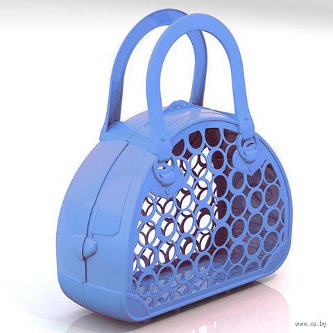 Сумка-корзинка (голубая)