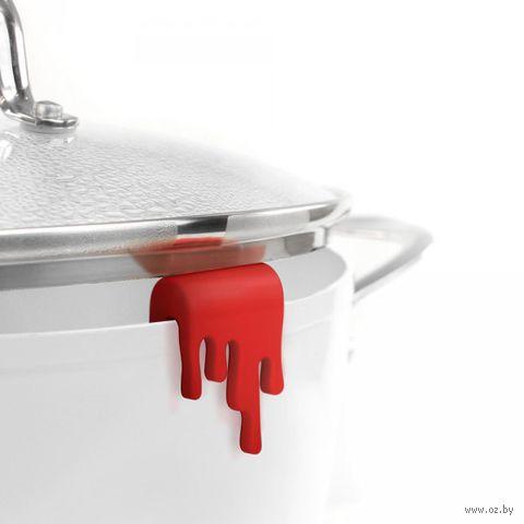 """Держатель для крышки """"Splashed"""" (красный)"""