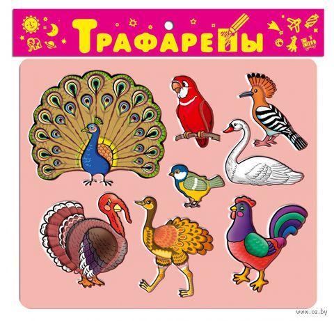 """Трафарет пластмассовый """"Птицы"""""""