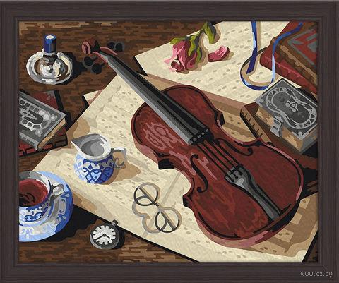 """Картина по номерам """"Уроки музыки"""" (400х500 мм) — фото, картинка"""