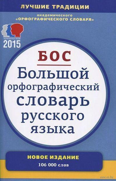 Большой орфографический словарь русского языка — фото, картинка