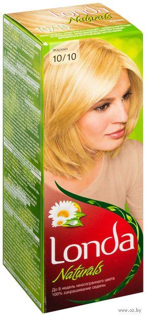 "Крем-краска для волос ""Londacolor. Naturals"" (тон: 10/10, жасмин)"