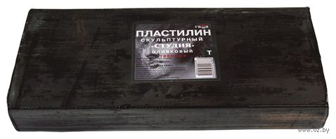 """Пластилин скульптурный """"Оливковый"""" Т (1000 г)"""