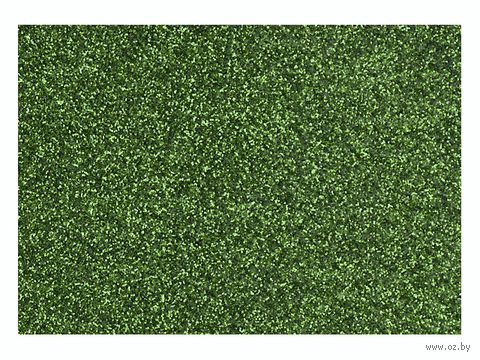 "Фольга для декорирования ткани ""Зеленый"" (296х204 мм) — фото, картинка"