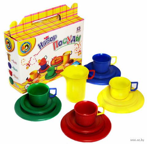 Набор детской посуды (арт. 5021) — фото, картинка