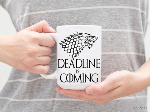 "Кружка ""Deadline"" — фото, картинка"
