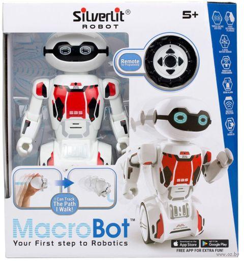 """Робот на радиоуправлении """"MacroBot"""" (красный; со световыми и звуковыми эффектами) — фото, картинка"""