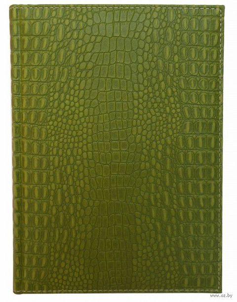 """Ежедневник датированный """"OCEANIA"""", 2015 (А5; зеленый) — фото, картинка"""
