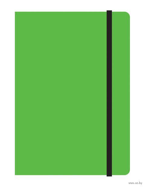 """Блокнот в клетку """"Study up"""" (А6; 120 листов; зеленый)"""