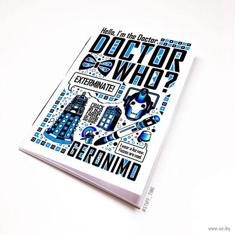 """Блокнот """"Доктор Кто"""" (А5; арт. 125)"""