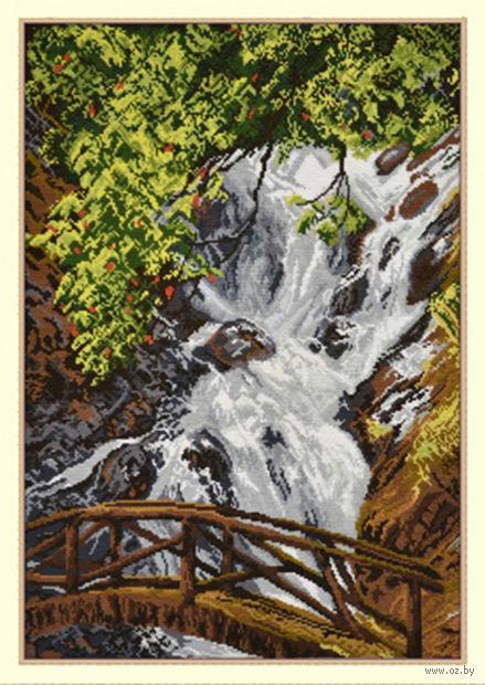 """Вышивка крестом """"Водопад Датанла"""""""