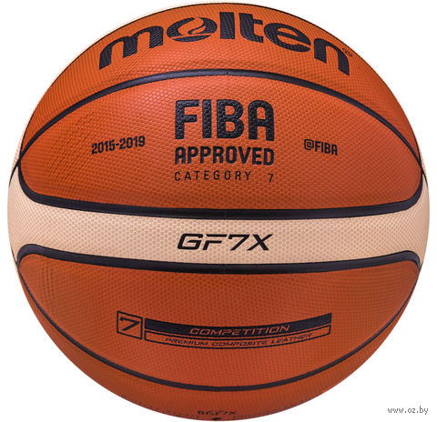 Мяч баскетбольный Molten BGF7X №7 — фото, картинка