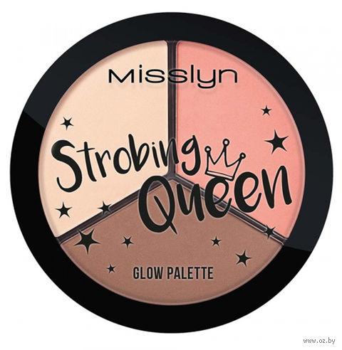 "Палетка хайлайтеров для лица ""Strobing Queen Glow Palette"" — фото, картинка"