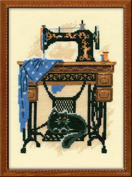 """Вышивка крестом """"Швейная машинка"""" (арт. 857)"""
