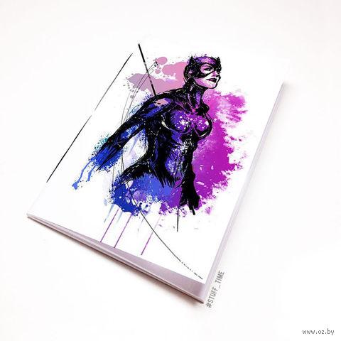 """Блокнот """"Женщина-кошка"""" (А5; арт. 882) — фото, картинка"""