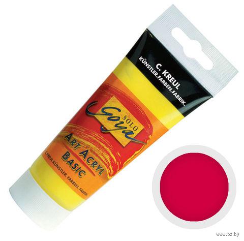 "Краска акриловая матовая ""Solo Goya Basic"" 08 (100 мл; кармин)"