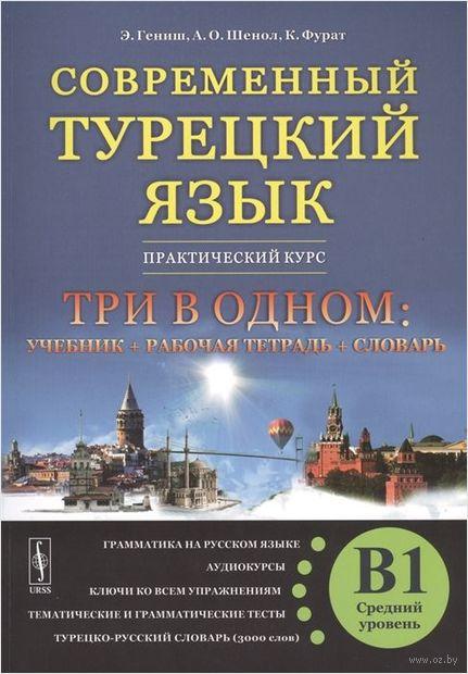 Современный турецкий язык. Практический курс. Средний уровень. B1 — фото, картинка