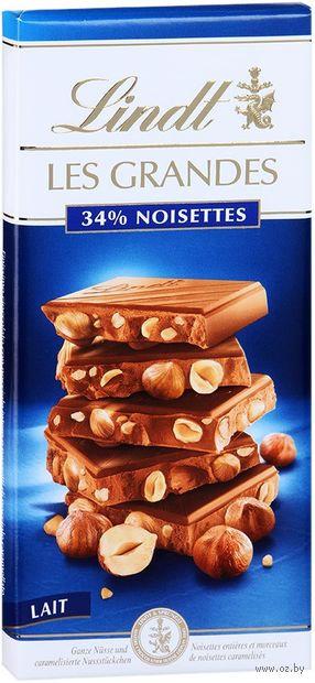 "Шоколад молочный ""Lindt. Les Grandes"" (150 г) — фото, картинка"