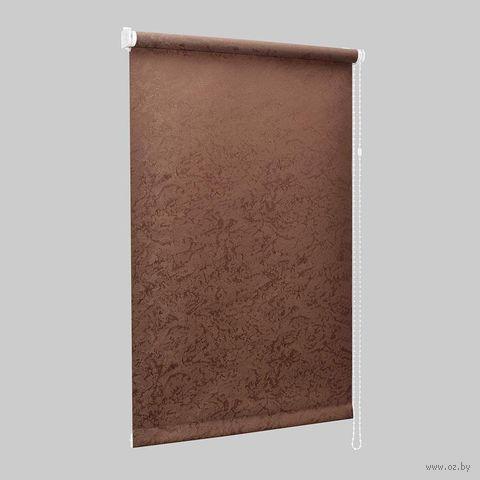 """Штора рулонная """"Сантайм. Венеция"""" (48х170 см; шоколад) — фото, картинка"""