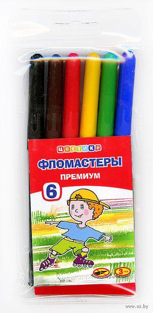"""Фломастеры """"Цветик"""" (6 цветов)"""