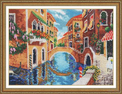 """Вышивка бисером """"Солнечная Венеция"""" (452х337 мм) — фото, картинка"""