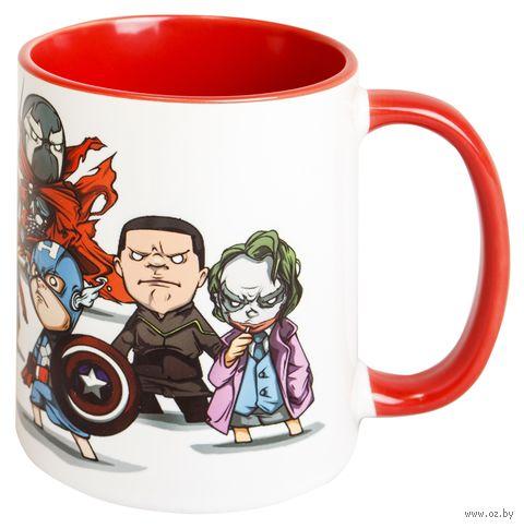 """Кружка """"Marvel"""" (056)"""