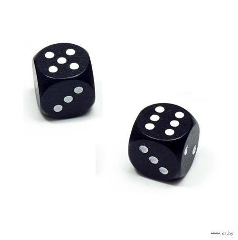 """Кубик D6 """"Эко-стиль"""" (чёрный) — фото, картинка"""