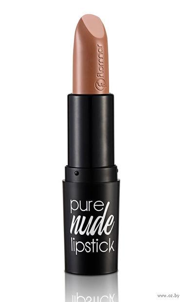"Помада для губ ""Pure Nude Lipstick"" (тон: 005, light mocha) — фото, картинка"