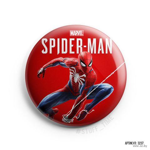 "Значок маленький ""Человек-паук"" (арт. 237) — фото, картинка"